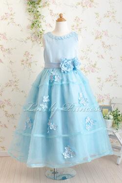 子供ドレス エレクトラ ブルー
