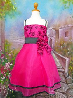 子供ドレス フォンティーヌ フューシャ