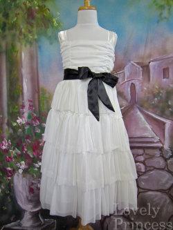 子供ドレス テレサ ホワイト