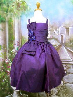 子供ドレス キャリー パープル