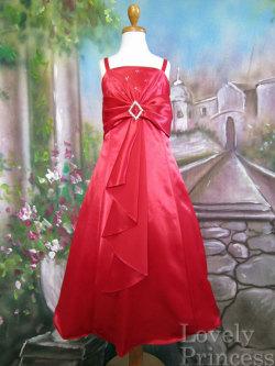 子供ドレス ベンジャミン レッド