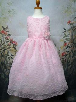 子供ドレス エレナ ピンク