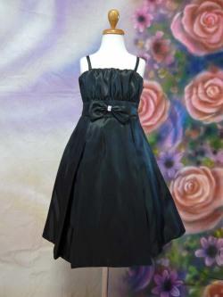 子供ドレス ローラ ブラック