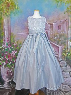 子供ドレス シンシア シルバー