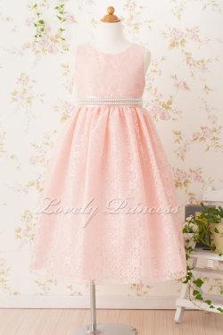 子どもドレス マリオン ピンク