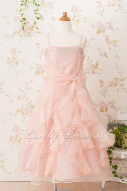 子どもドレス マドレーヌ ブラッシュピンク