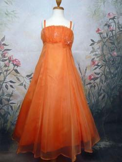 子供ドレス ナタリー オレンジ
