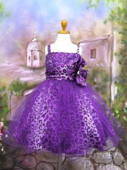 子供ドレス マリリン パープル