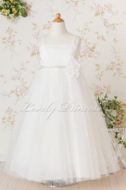 当店オリジナル子供ドレス ディアヌ アイボリー