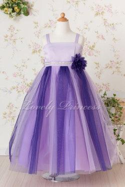 当店オリジナル子供ドレス ディアヌ パープルライラック
