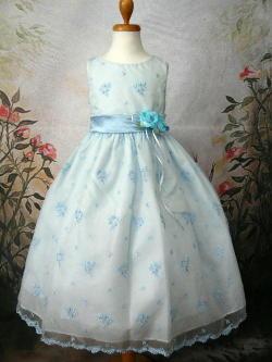 子供ドレス ルーシー ブルー