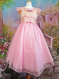 子供ドレス オーガスタ ピンク