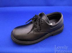 男の子用フォーマルシューズ ブラック(LC37050)