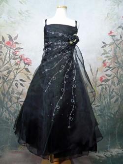 子供ドレス ロゼリア ブラック