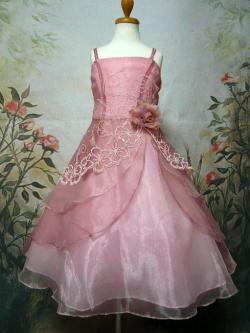 子供ドレス レミ ローズピンク