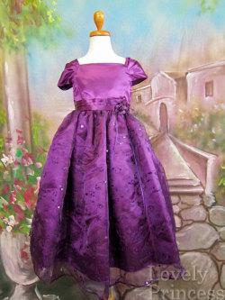 子供ドレス フィオナ パープル