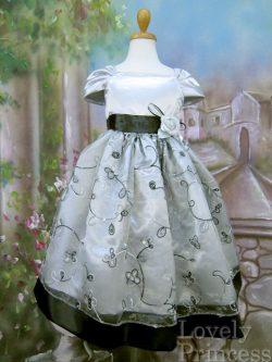 子供ドレス ヘーゼル シルバー