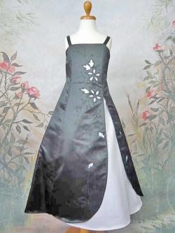 子供ドレス ラン ブラック