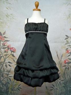子供ドレス シャーロン ブラック
