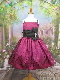 子供ドレス セリーヌ フューシャ