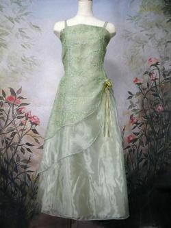 ジュニアドレス オリーブ セージ
