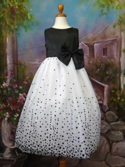 子供ドレス ローレン ブラック