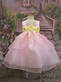 ベビードレス キンバリー ピンク
