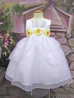 ベビードレス キンバリー ホワイト