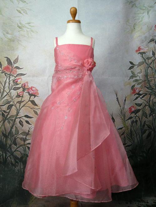 子供ドレス ロゼリア コーラル