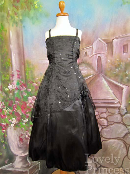 子供ドレス エルザ ブラック