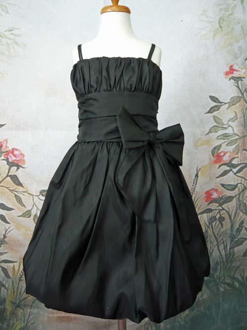 子供ドレス ジェイミー ブラック