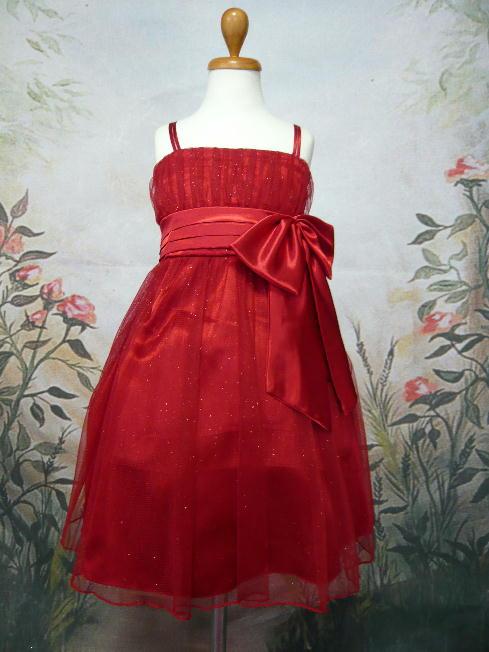 子供ドレス ミリア レッド