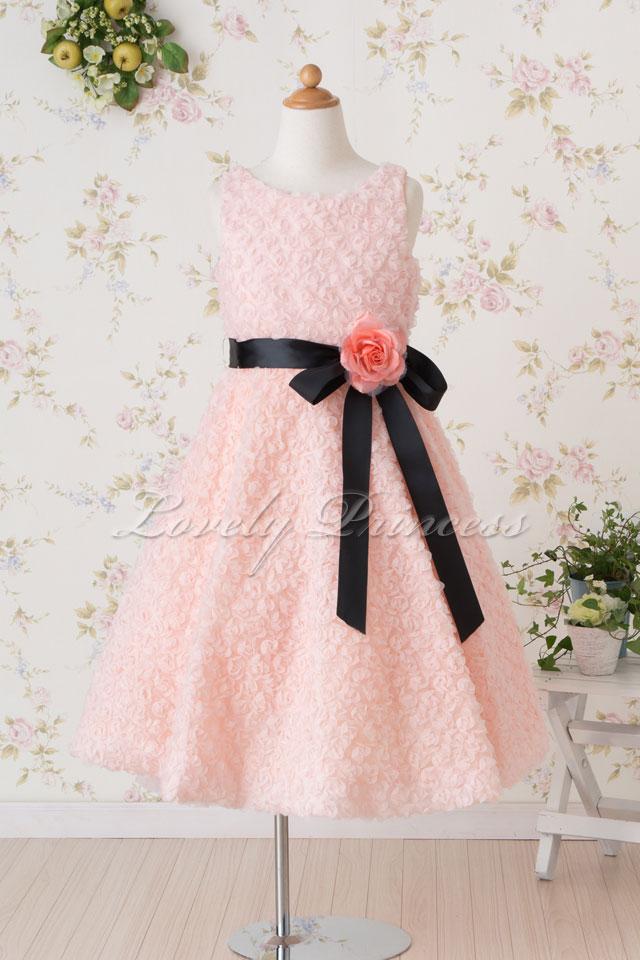 子供ドレス スザンヌ ピンク