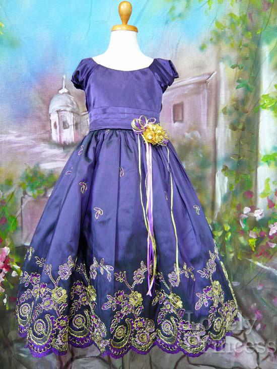 子供ドレス ドロシー パープル