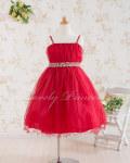 子どもドレス・ジュニアドレス ヴァイオレット レッド
