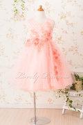 子どもドレス(CC9022-P) ピンク