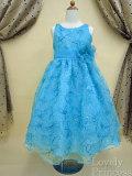 子供ドレス エレクトラ アクアブルー