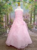 子供ドレス リンダ ピンク