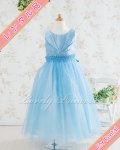 【 レンタル品 】 子どもドレス アナベル ブルー