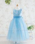 子供ドレス・ジュニアドレス アナベル ブルー