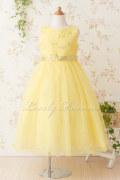 子供ドレス サフラン イエロー