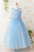 子供ドレス アシュリー ブルー