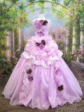 ステージ衣装・結婚式に!エレガントプリンセスロングドレス