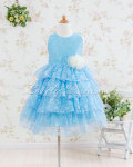 子供ドレス ジェマ ブルー
