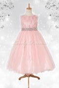 子どもドレス レティシア ブラッシュピンク