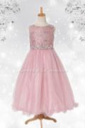 子どもドレス レティシア ローズピンク