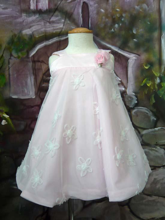 ベビードレス イザベル ピンク