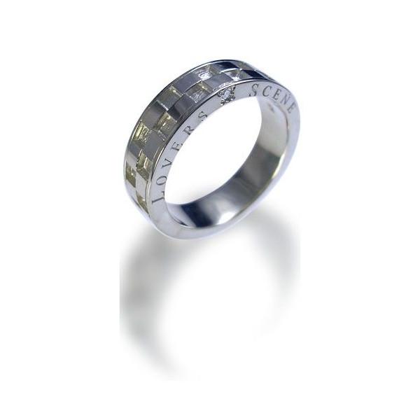 ◆LOVERS SCENE ラバーズシーン◆シルバーリング/レディース(ダイヤモンド付)【LSR0031D】