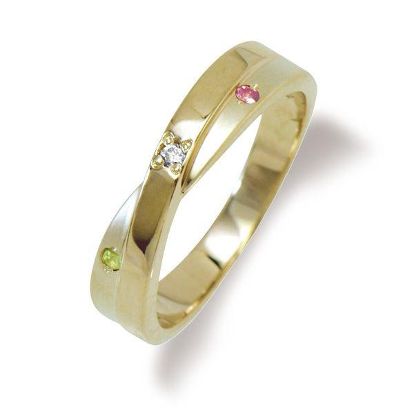 ◆納期約4週間◆誕生石が選べる◆シルバーリング(ダイヤモンド付き) ピンクカラー 【LSR0309DPSTR】◆LOVERS SCENE ラバーズシーン◆