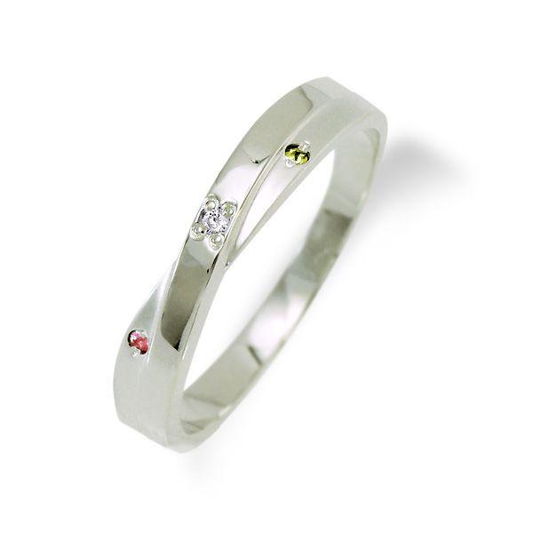 ◆LOVERS SCENE ラバーズシーン◆誕生石が選べるシルバーリング(ダイヤモンド付き)【LSR0309DTR】通常納期7日~10日